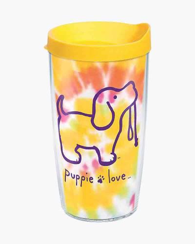 Tie-Dye Pup 16 oz. Tumbler by Puppie Love