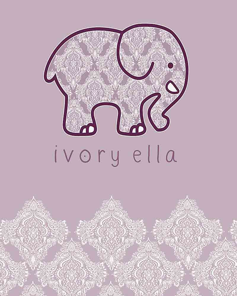 83dbfc921 Ivory Ella Ivory Ella Lavender Elephant 16 oz. Tumbler by Tervis ...