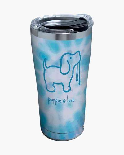 Puppie Love Blue Tie Dye 20 oz. Stainless Steel Tumbler by Tervis