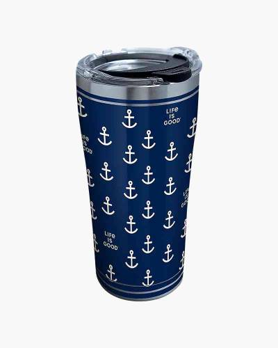 Anchor Staineless Steel 20oz Tervis Tumbler with Lid