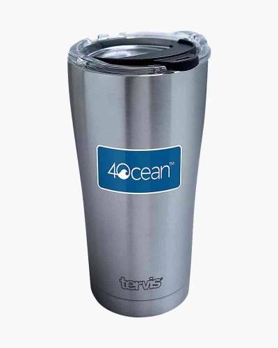 4Ocean Logo 20 oz. Stainless Steel Tumbler by Tervis