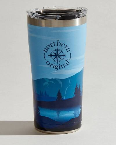 Exclusive Northern Original Mountains Stainless Steel Tumbler (20 oz.)