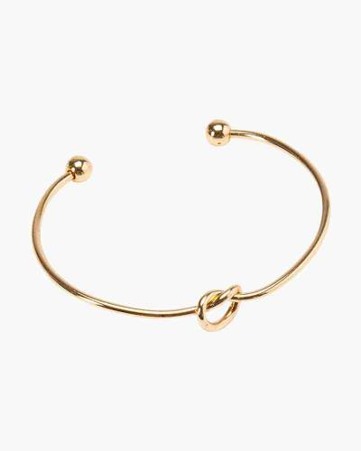 Sailor's Knot Cuff Bracelet in Gold