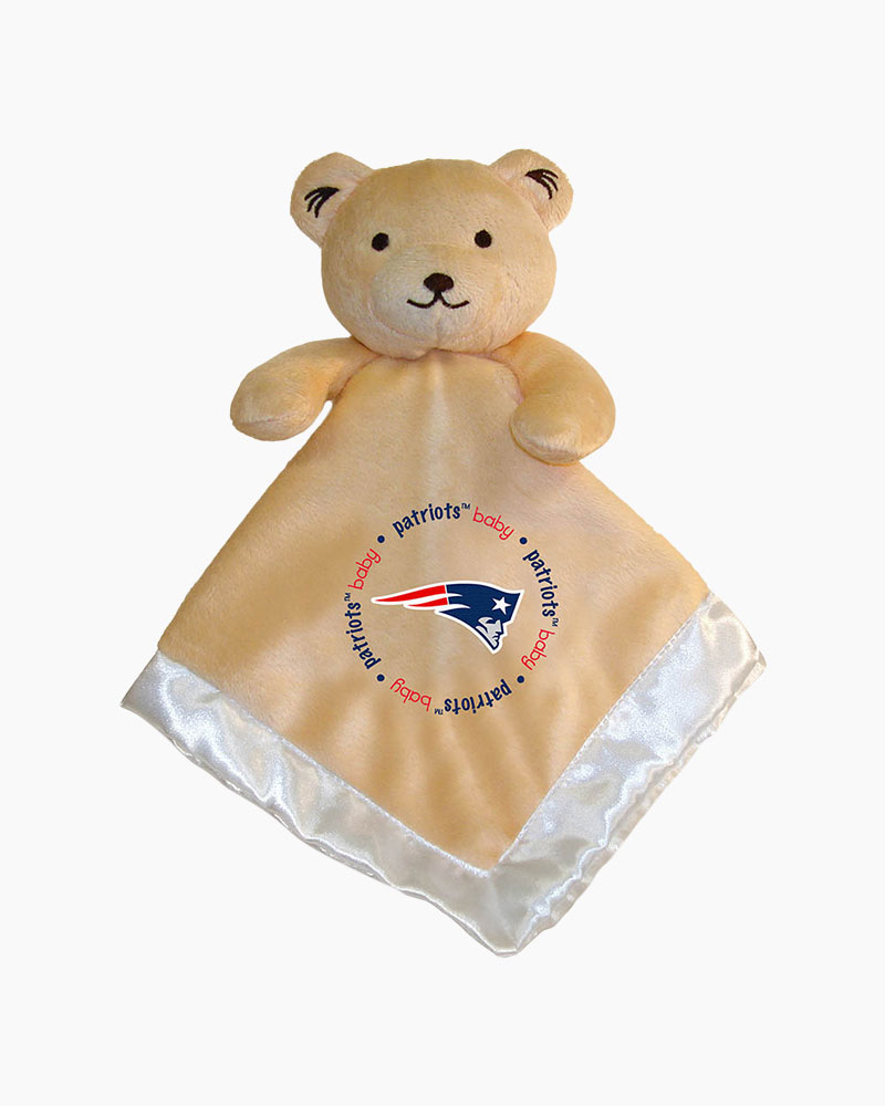 Baby Fanatic New England Patriots Plush Bear Security Blanket