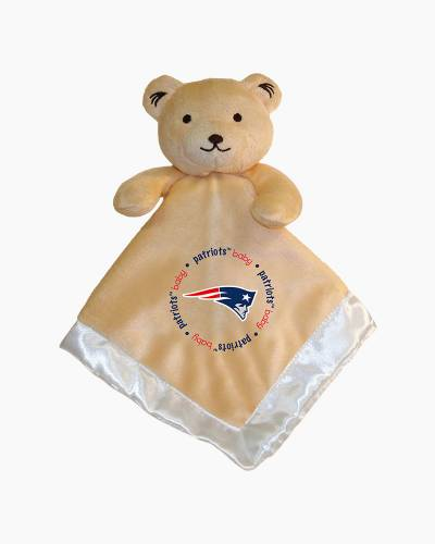 New England Patriots Plush Bear Security Blanket