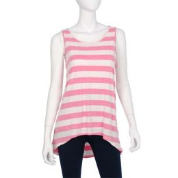 India Boutique Striped Sleeveless Top
