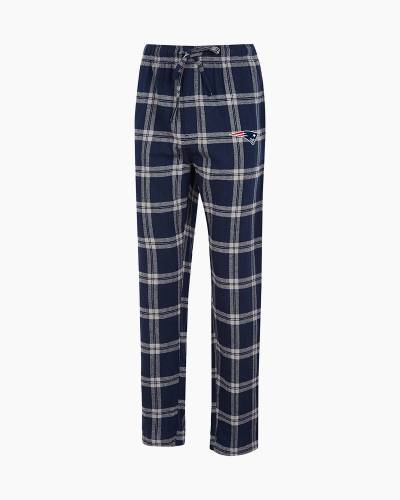 New England Patriots Men's Homestretch Flannel Sleep Pants