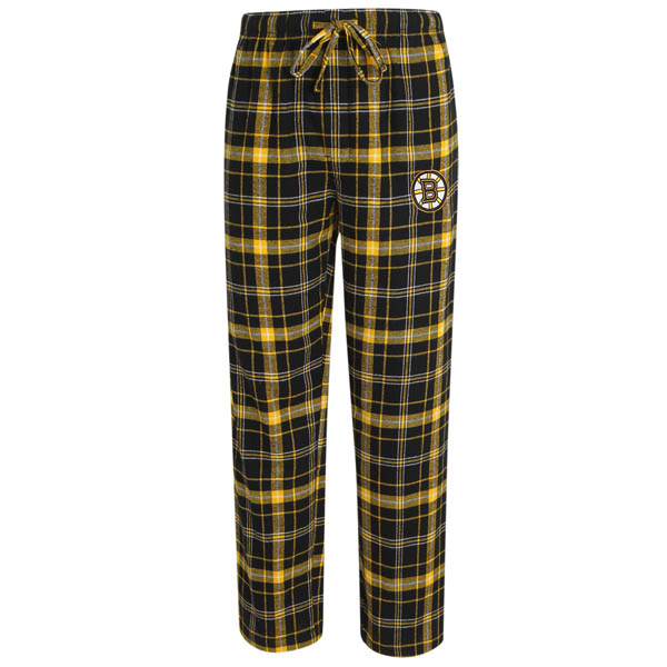 Concepts Sport Boston Bruins Men's Ultimate Flannel Sleep Pants
