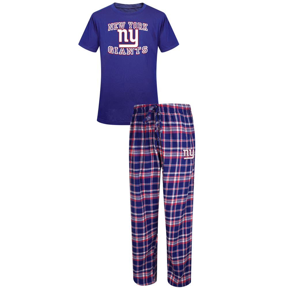 Concepts Sport New York Giants Men's Sleep Set