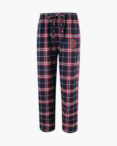 Boston Red Sox Men's Huddle Flannel Sleep Pants