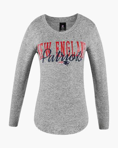 New England Patriots Women's Reprise Long Sleeve Top