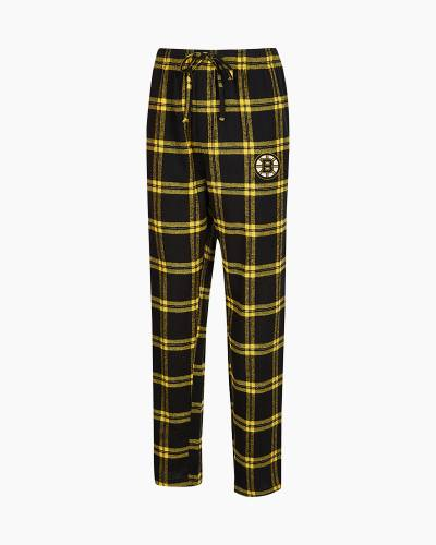 Boston Bruins Men's Homestretch Flannel Sleep Pants