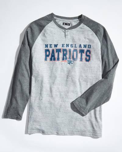 Men's New England Patriots Hillstone Long Sleeve Top