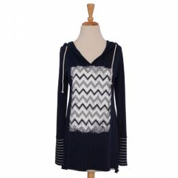 Spirit Navy Chevron Tunic