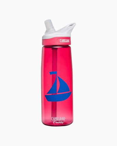 Sailboat eddy Water Bottle