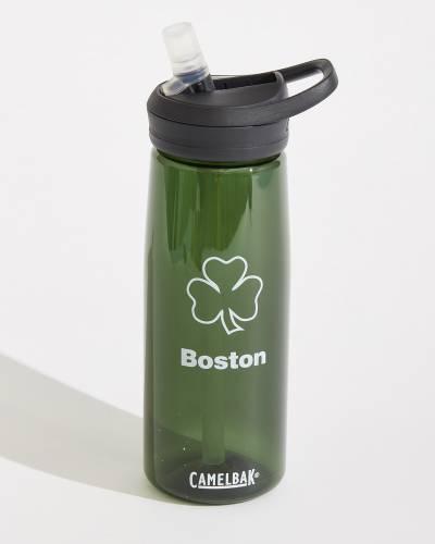Shamrock eddy Water Bottle