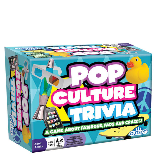 Outset Pop Culture Trivia Game