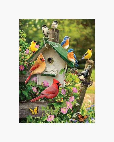 Summer Birdhouse Jigsaw Puzzle (1,000 pc)