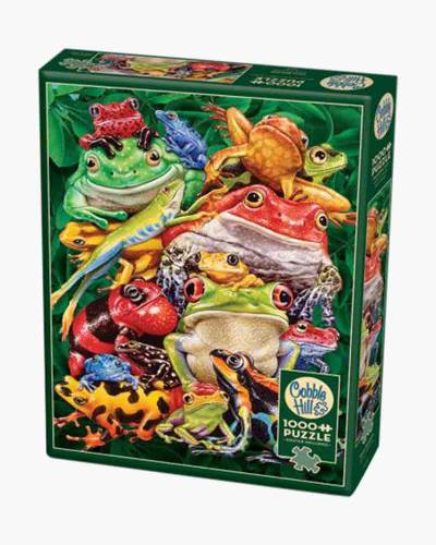 Frog Business Jigsaw Puzzle (1,000 pc)
