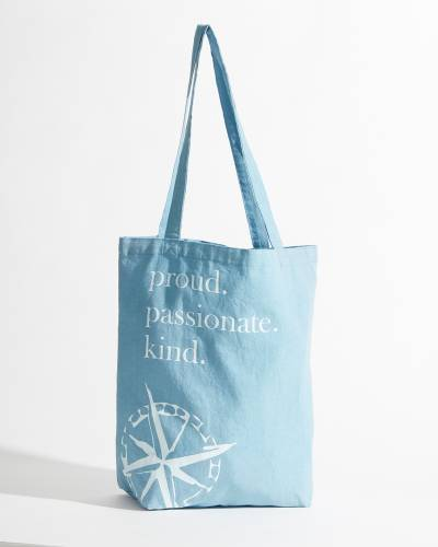 Exclusive Proud. Passionate. Kind. Canvas Tote Bag