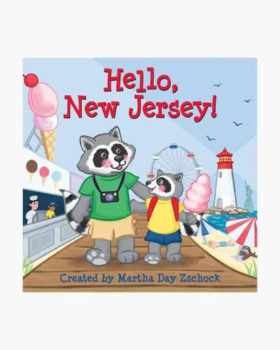 Hello New Jersey! (Board Book)