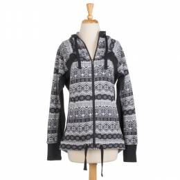 AV Sportswear Nordic Print Sweater with Hood
