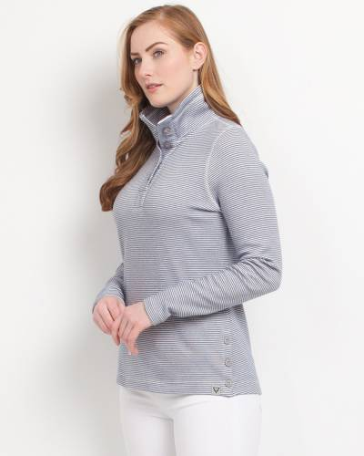 Navy Stripe Pullover