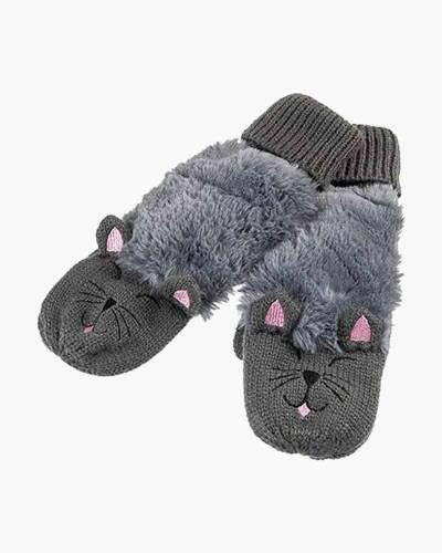 Grey Kitten Critter Mittens