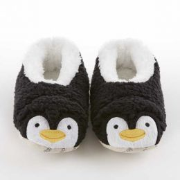 Snoozies Penguin Sherpa Snoozies