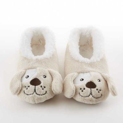 Puppy Coral Fleece Snoozies