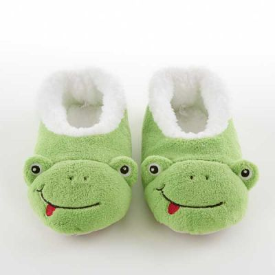 Frog Coral Fleece Snoozies