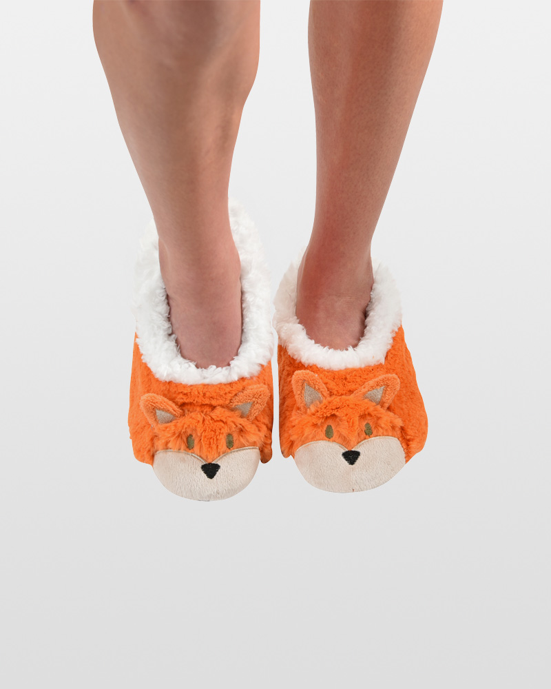 Snoozies Women's Fox Animal Snoozies