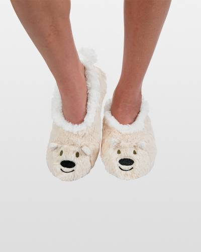 Women's Polar Bear Animal Snoozies