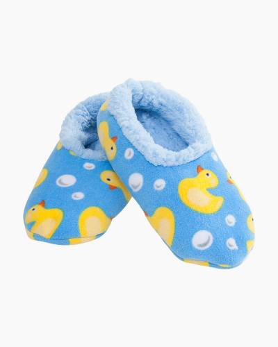 Rubber Duckies Snoozies Slippers