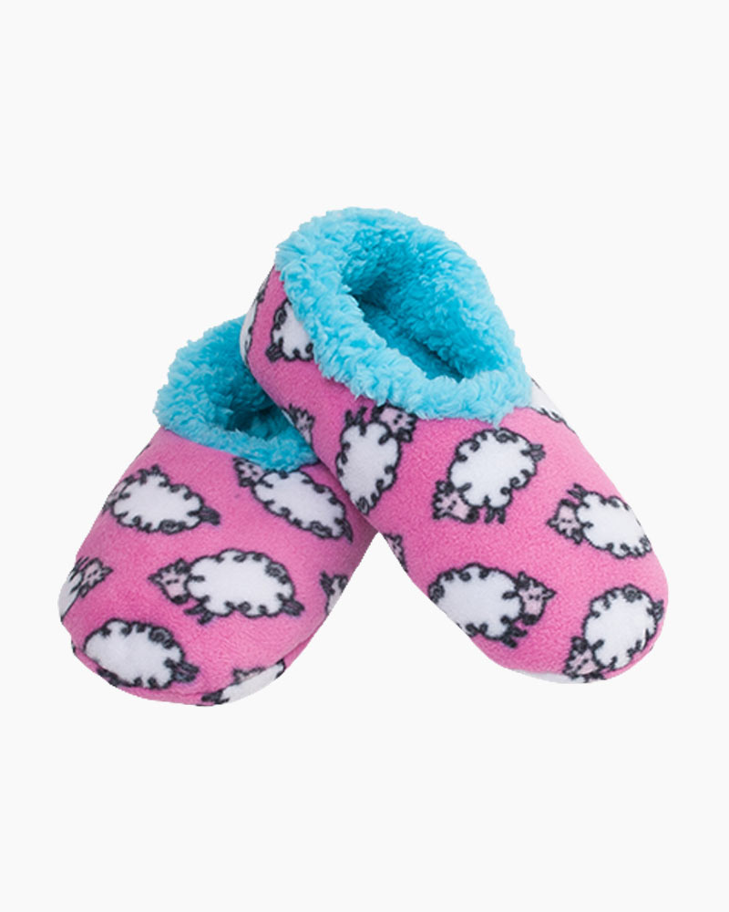 Snoozies Fluffy Sheep Snoozies Slippers