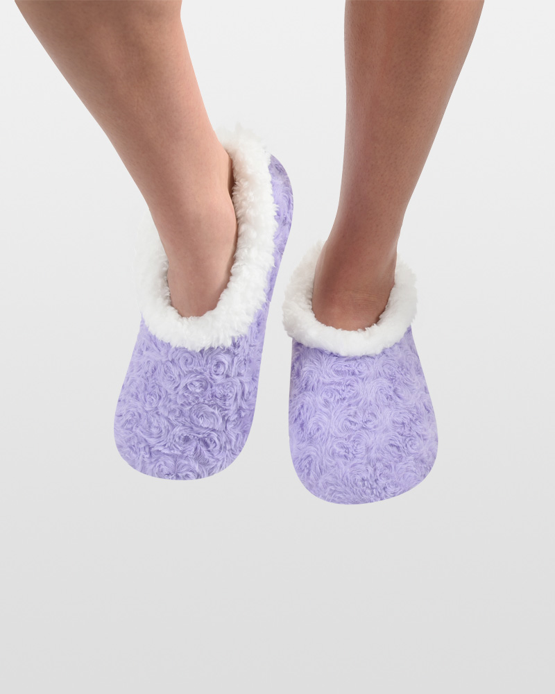 Snoozies Lavender Rose Snoozies Slippers