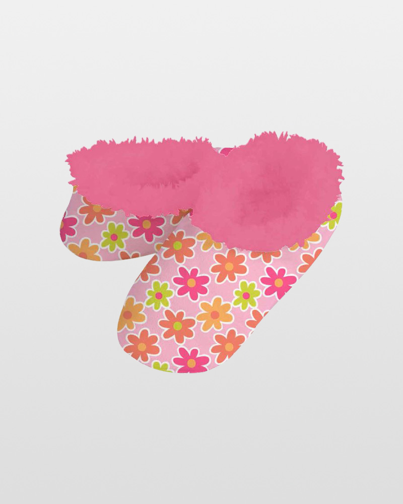 Snoozies Modern Daisy Snoozies Slippers