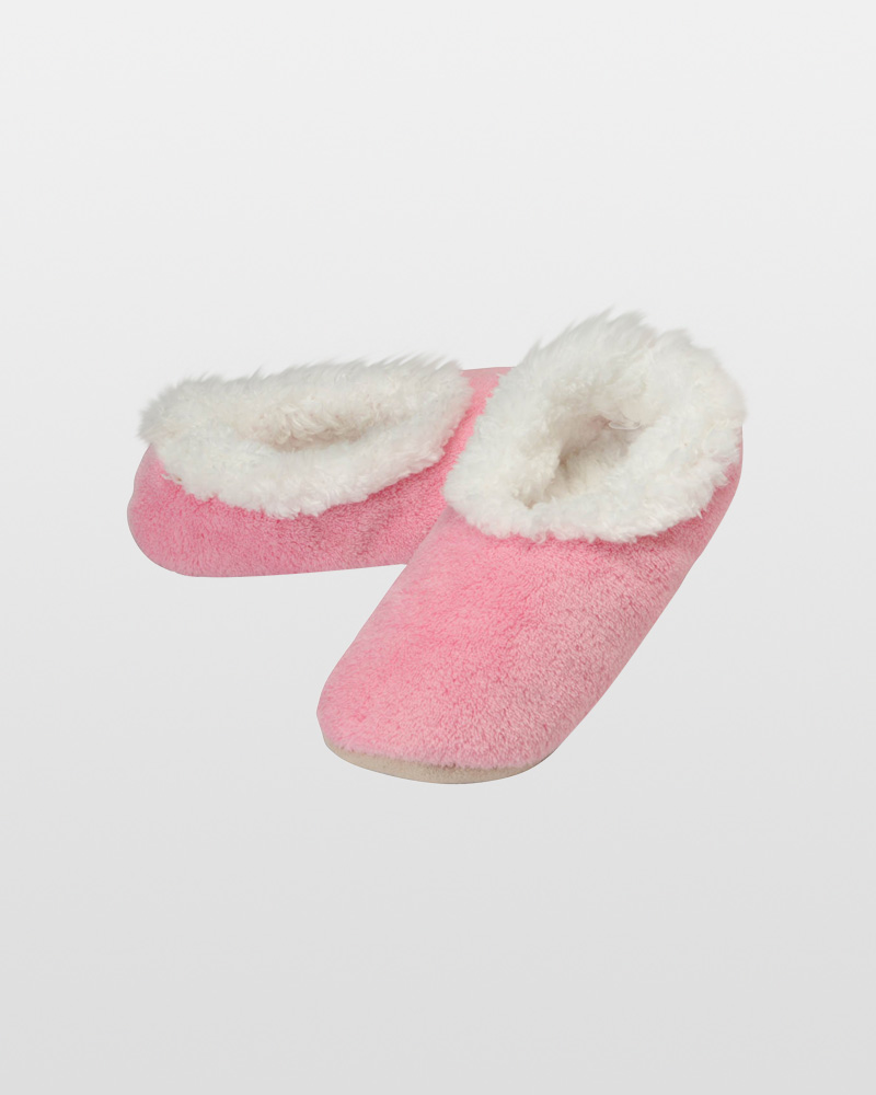 Snoozies Women's Premium Plush Snoozies in Pink