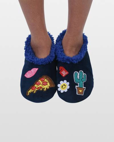 Women's Cool Patches Snoozies in Blue