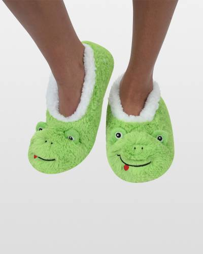 Women's Frog Foot Pals Snoozies