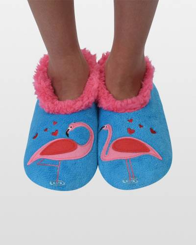 Women's Simply Pairables Flamingo Snoozies