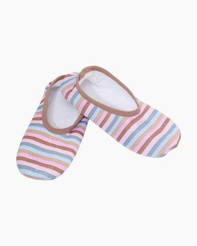 Women's Good Morning Pretty Stripes Skinnies Snoozies