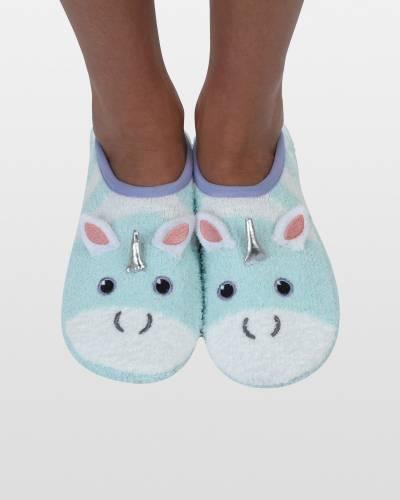 Unicorn Mary Jane Cozy Little Socks