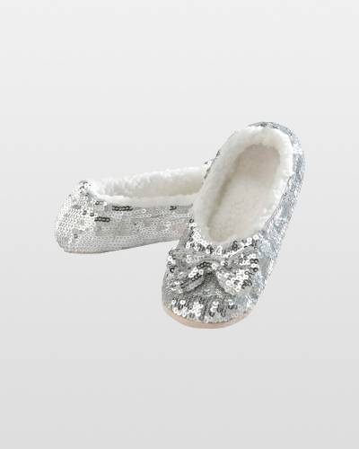 Women's SIlver Bling Snoozies