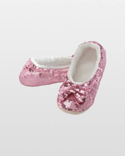 Women's Pink Bling Snoozies