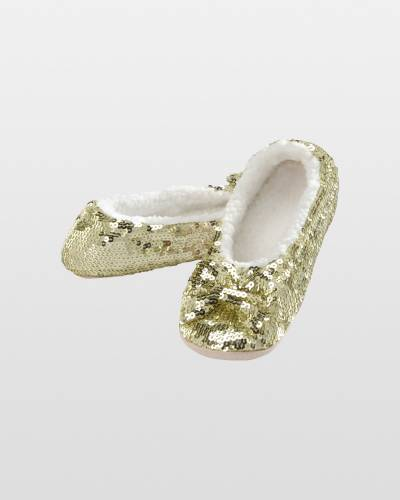 Women's Gold Bling Snoozies