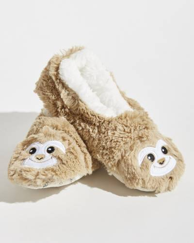 Sloth Women's Furry Foot Pals Snoozies