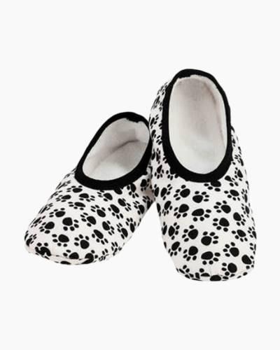 Women's Paw Prints Skinnies Foot Coverings