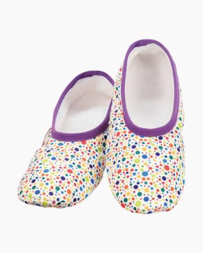 Women's Rainbow Polka Dot Skinnies Foot Coverings
