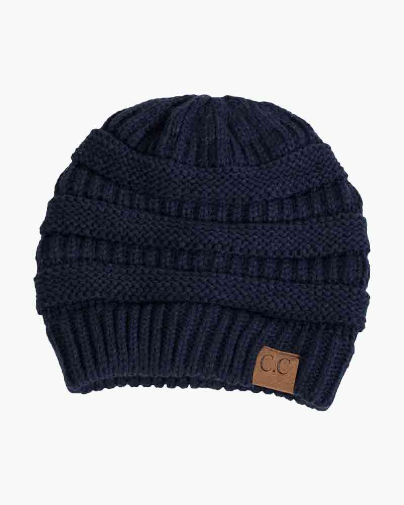 C.C Chunky Cable Knit Beanie